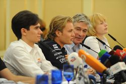 The press conference: Nico Rosberg