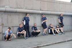 Williams team members