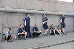 Williams team members
