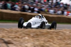 A historic racing car, Nick Mason Pink Floyd drunmer