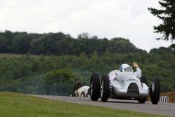 A historic racing car, Nick Mason Pink Floyd drummer