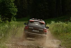 Team Hock Racing 2 Porsche Cayenne S Transsyberia : Lars Kern et Daniel van Kan