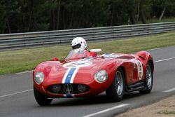 #19 Maserati 300 S 1955: Nicolas Chambon, Henri Chambon