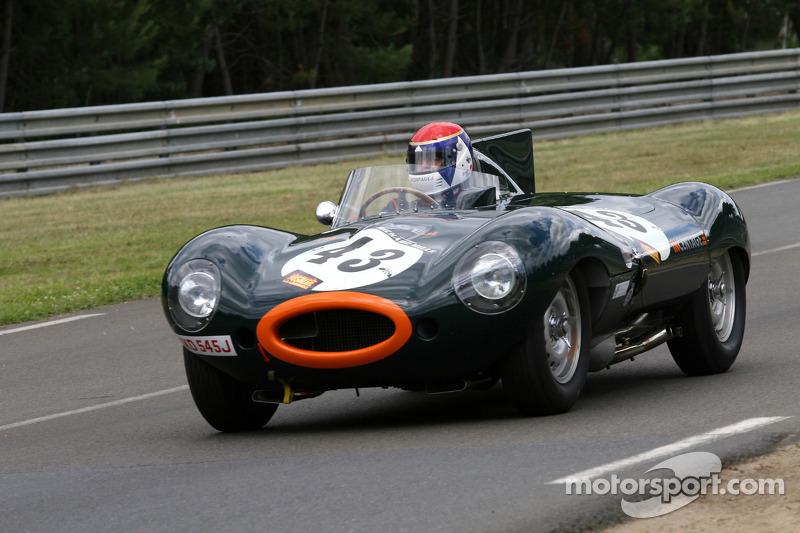 #43 Jaguar D Type: Tony Pickering, Roger Earl, Gavin Pickering