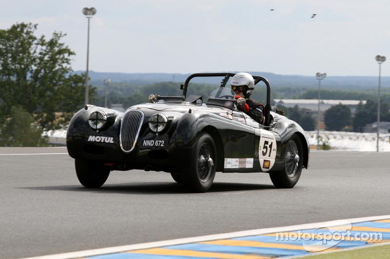 #51 Jaguar Xk 120 1952: Peter Terrell, Jean Michel Piat