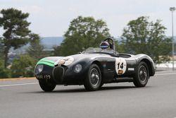 #14 Jaguar C Type 1953: Nicholas Finburgh, Olivier Crosthwaite