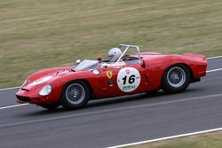 #16 Ferrari 196 Sp 1961: Jos Koster, M Van Duijvendijk