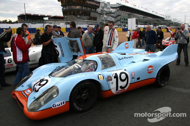 #19 Porsche 917 1971: Jean-Marc Luco, Jürgen Barth