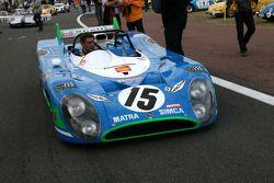 #15 Matra 670 B 1972: Dominique Guenat, Yvan Mahe