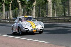 Porsche 356 1960 : Emmanuel Morel D'arleux, Philippe Nelis