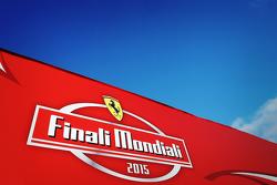 El logotipo oficial de Finali Mondiali Ferrari