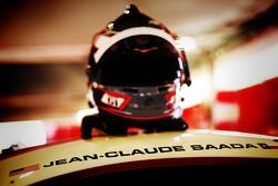El casco de Jean-Claude Saada, paseo Ferrari