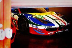 #51 AF Corse Ferrari 458: Toni Vilander, Gianmaria Bruni