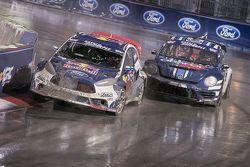 Joni Wiman, Olsbergs MSE Ford en Scott Speed, Andretti Autosport Volkswagen