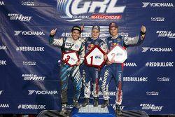 Podium: 1. Joni Wiman, Olsbergs MSE, Ford; 2. Scott Speed, Andretti Autosport, Volkswagen; 3. Sebast