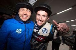 2015 champion Scott Speed, Andretti Autosport Volkswagen with Jost Caputo, head of VW Motorsport