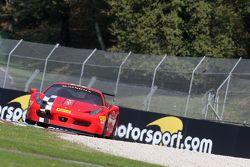 #8 Rosso Corsa - Pellin Racing Ferrari 458 : Dario Caso