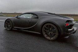 Bugatti Chiron spyfoto