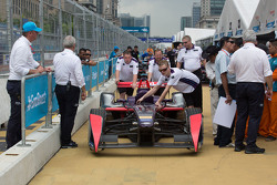 DS Virgin Racing Formula E Team en el pitlane