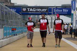 Nick Heidfeld, Mahindra Racing, und Bruno Senna, Mahindra Racing