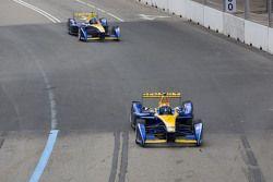 Sébastien Buemi, Renault e.Dams , dan Nicolas Prost, Renault e.Dams