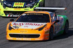#180 Kessel Racing Ferrari 458 Italia : Gautam Singhania remporte la Course 1