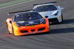 #52 CDP Ferrari 458: Renato di Amato lidera a #93 Foitek Racing Ferrari Nicolas Sturzinger