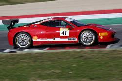 #41 AF Corse Ferrari 458: Frederic Jean Marie Fangio