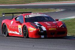 #8 Rossocorsa - Pellin Racing Ferrari 458 : Dario Caso