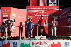Подиум APAC Pirelli: первое место #471 Ferrari Greater China Роберт Эйсер