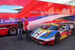 James Calado, AF Corse, s'exprime au micro de Motorsport.com