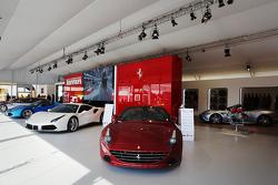 Exposición vintage Ferrari