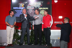 #88 Baron Service Ferrari 458: Florian Merck, Ganador del Premio Best Livery