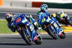 Maverick Viñales, und Aleix Espargaro, Team Suzuki MotoGP