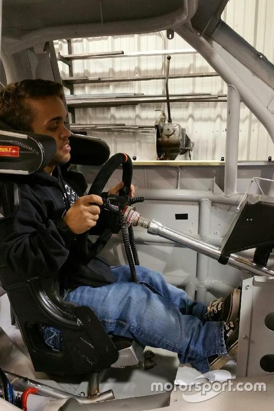 Rico Abreu und sein Truck-Cockpit