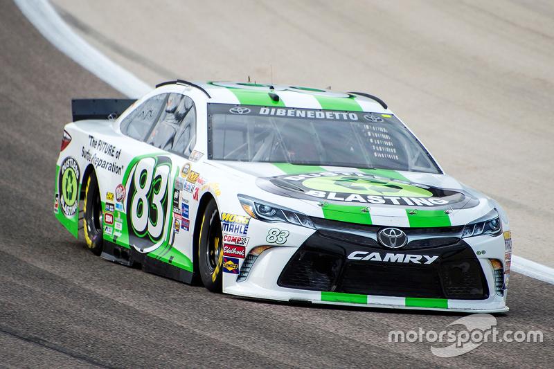 Startnummer 83: Matt DiBenedetto (BK-Toyota)