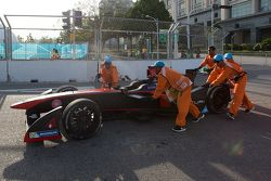 The car of Jacques Villeneuve, Venturi
