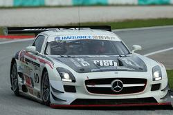 #90 Team AAI Mercedes AMG SLS GT3: Yu Lam, Tatsuya Tanigawa