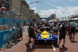 Nicolas Prost, Renault e.Dams on the starting grid