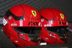 Ferrari FXX Programme, caschi dei piloti