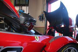 Ferrari FXX Programme, Ferrari FXX K in allestimento nel box