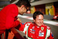 Giancarlo Fisichella, AF Corse et Peter Mann