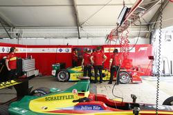 ABT Schaeffler Audi Sport teamruimte