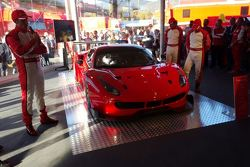 Ferrari 488 GT3 presentation