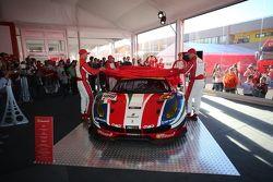 La Ferrari 488 GTE