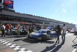 #84 Octane 126 Ferrari 458: Bjorn Grossmann e #55 Scuderia Autoropa Ferrari 458: Babalus
