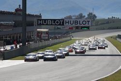 Carrera 2 Pirelli, el inicio