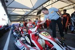Antonio Fuoco, collaudatore Ferrari