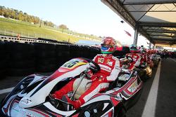 Antonio Fuoco, piloto de Ferrari