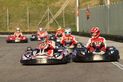 Acción de la carrera